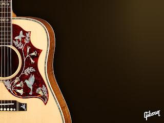 imagen guitarra acustica gibson