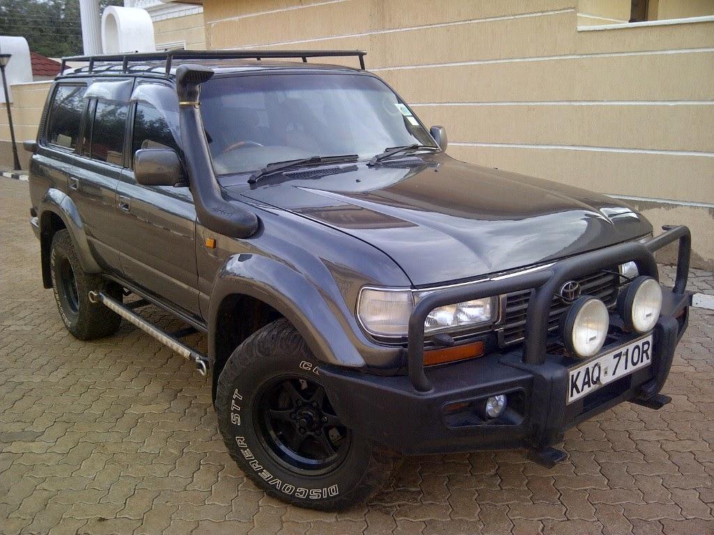 Nairobimail Toyota Land Cruiser Vx 80 Series Diesel