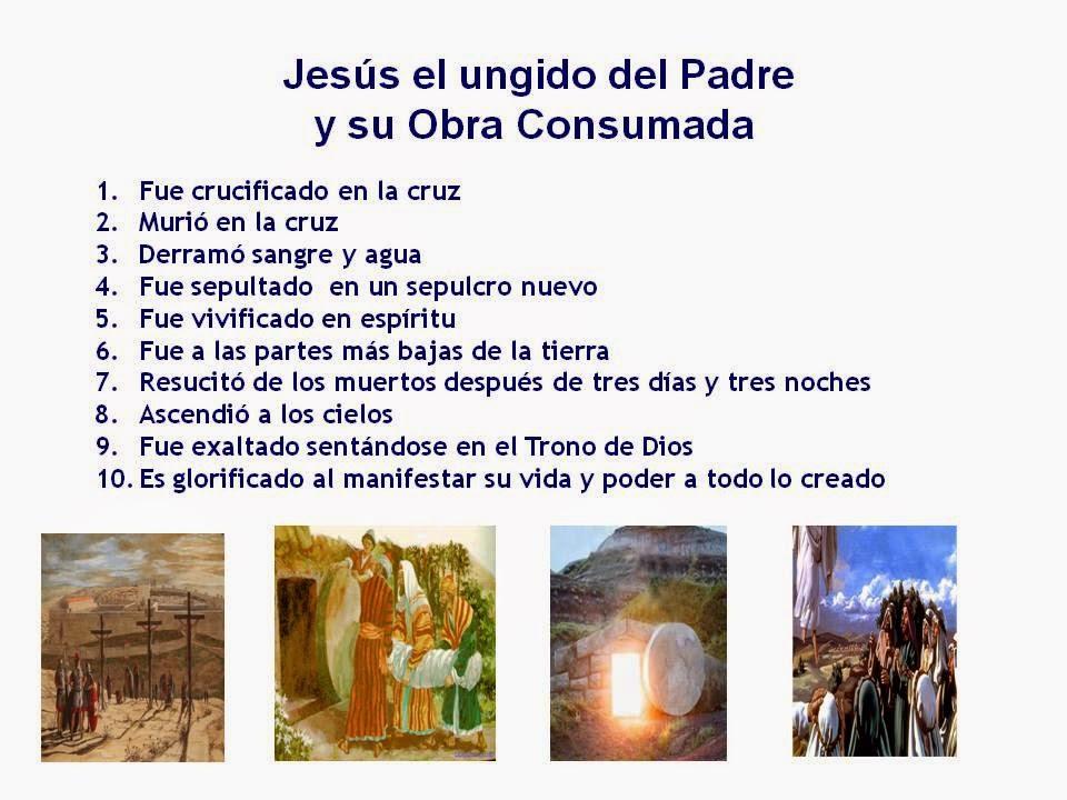 LA GRACIA DE CRISTO Y LA OBRA CONSUMADA