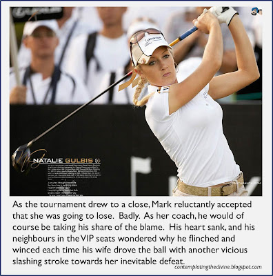 If shes not a femdom golfer she certainly should be