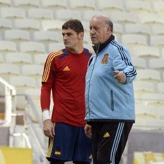 Del Bosque Punya Peran Besar Buat Casillas