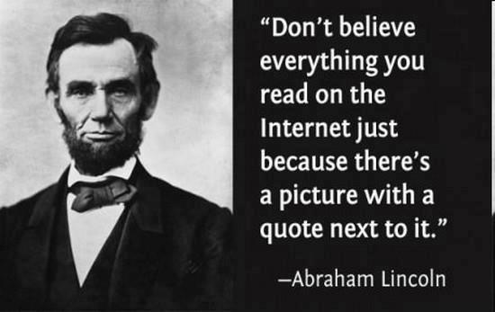 lincolnmeme independent thinking\
