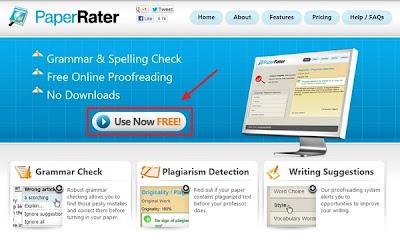 Cara Memeriksa Spelling dan Grammar dengan PaperRater