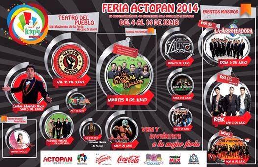 Feria Actopan 2014 Teatro del pueblo
