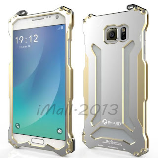 R-Just Heavy Duty Brushed Metal Aluminium GunDam Case for Samsung Galaxy Note 5