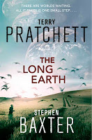 the long earth by terry pratchett and stephen baxter book cover