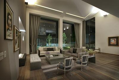Contoh Desain Rumah Terbaru Perpaduan Kehangatan dan Modern