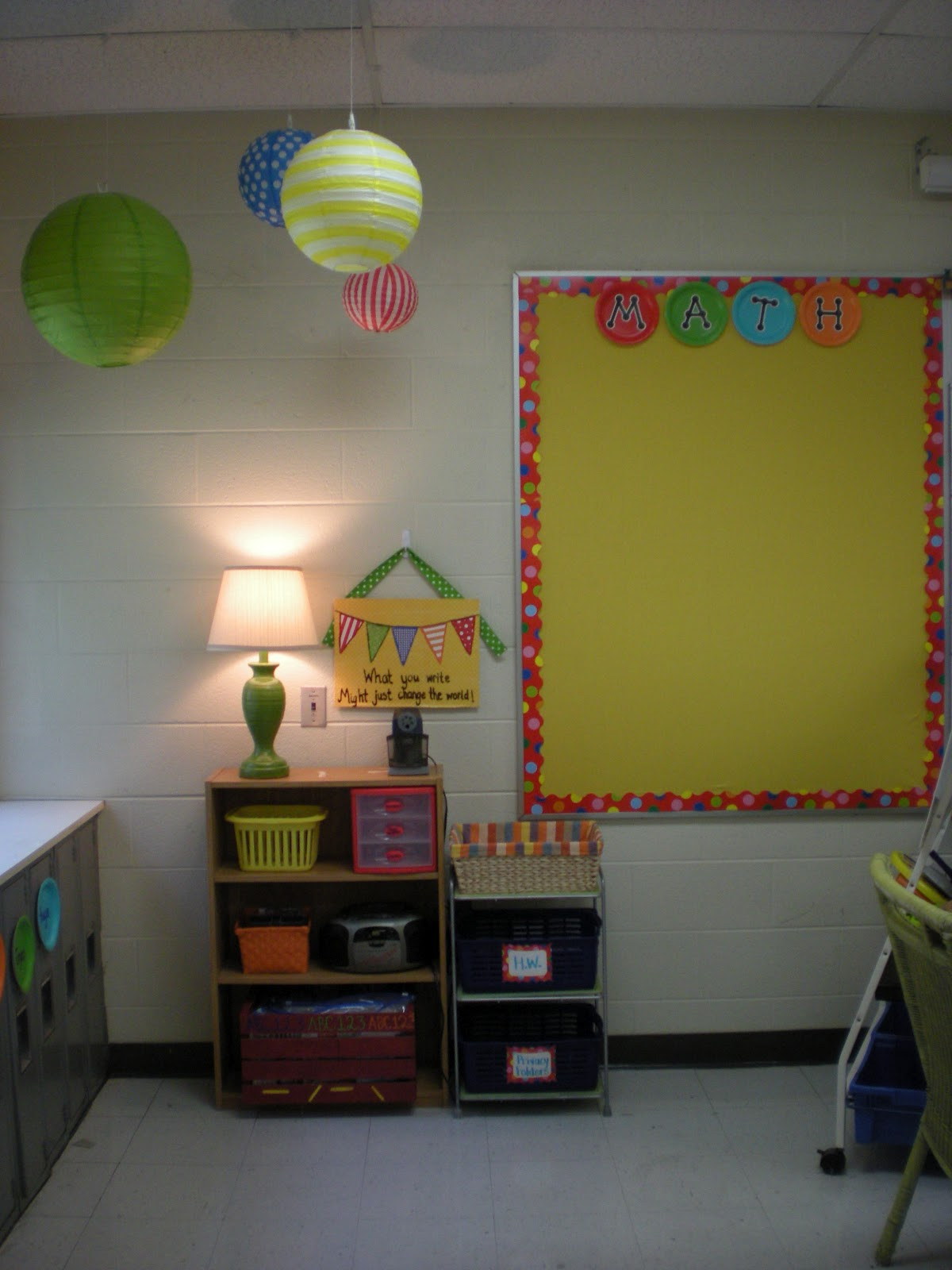 The Good Life: My New Classroom!