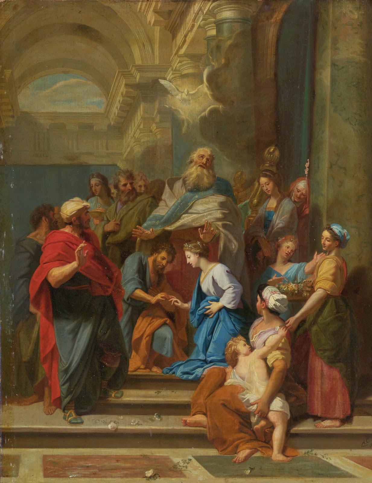 "Scuola Ecclesia Mater: ""Cum esset desponsáta mater Jesu María ..."