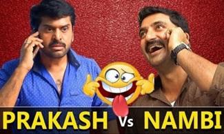 Prakash Vs Nambi OR Nambiar Vs MGR? | Best of Deivamagal