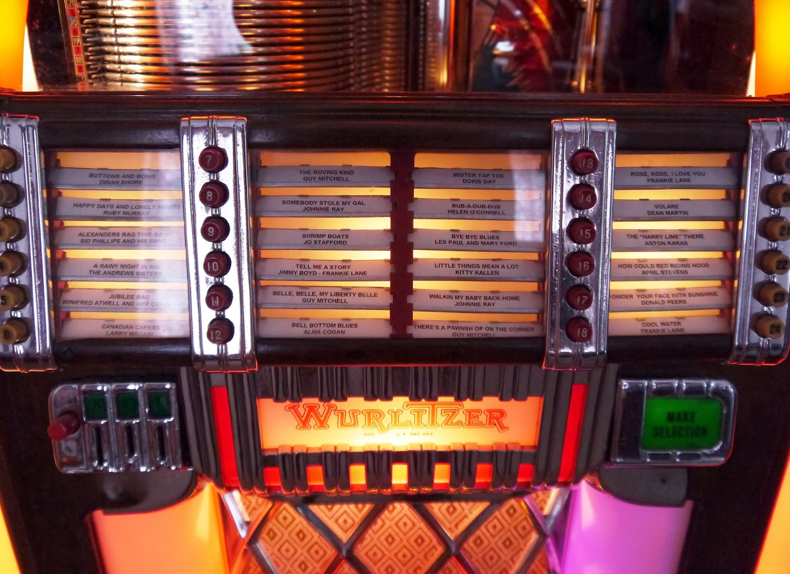 'Wurlitzer 1015' 1946 Jukebox