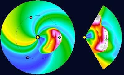 impacto llamarada solar clase X5.4, 08 de Marzo de 2012