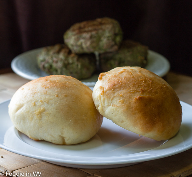 Click for Recipe for Homemade 40 Minute Hamburger Buns