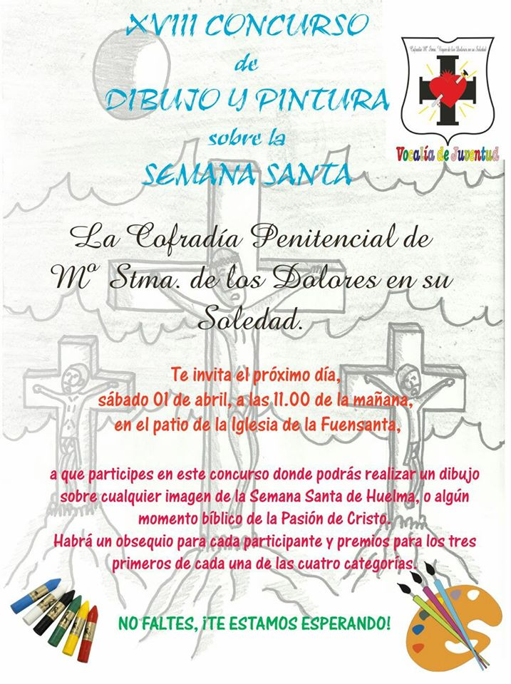 XVIII CONCURSO DE DIBUJO Y PINTURA SOBRE LA SEMANA SANTA 2017