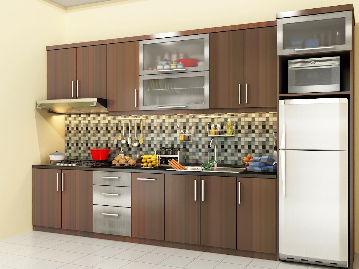 Kitchen set minimalis for Kitchen set lurus