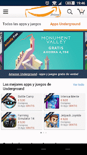 YoAndroideo.com: Amazon Underground, más apps totalmente gratuitas