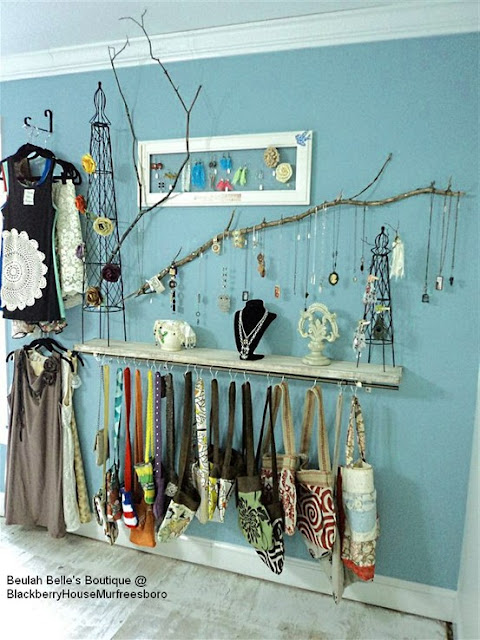Willow Art Studio Jewelry Display Ideas