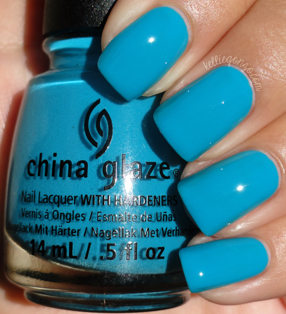 China Glaze - Wait N' Sea // kelliegonzo.com