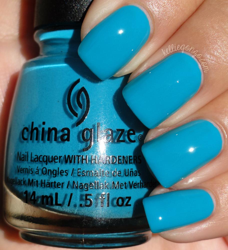 China Glaze - Wait N' Sea // kelliegonzo.com