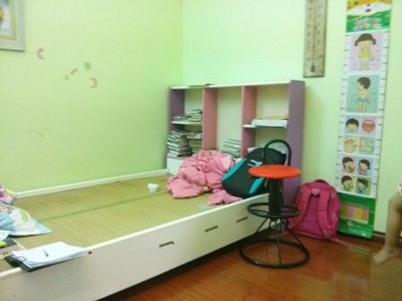 thiết kế phòng bé gái