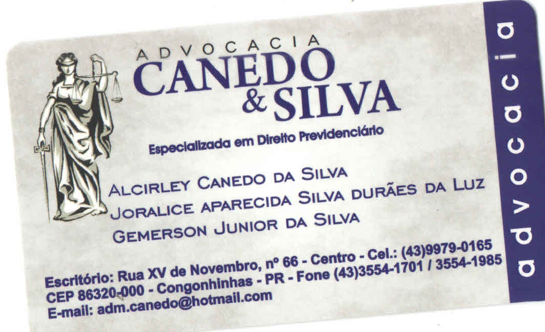 ADVOCACA CANEDO & SILVA
