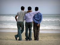 Arkadaşlık, Üç Erkek Arkadaş