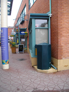 The Big carrot Rain barrel environmentally friendly Toronto