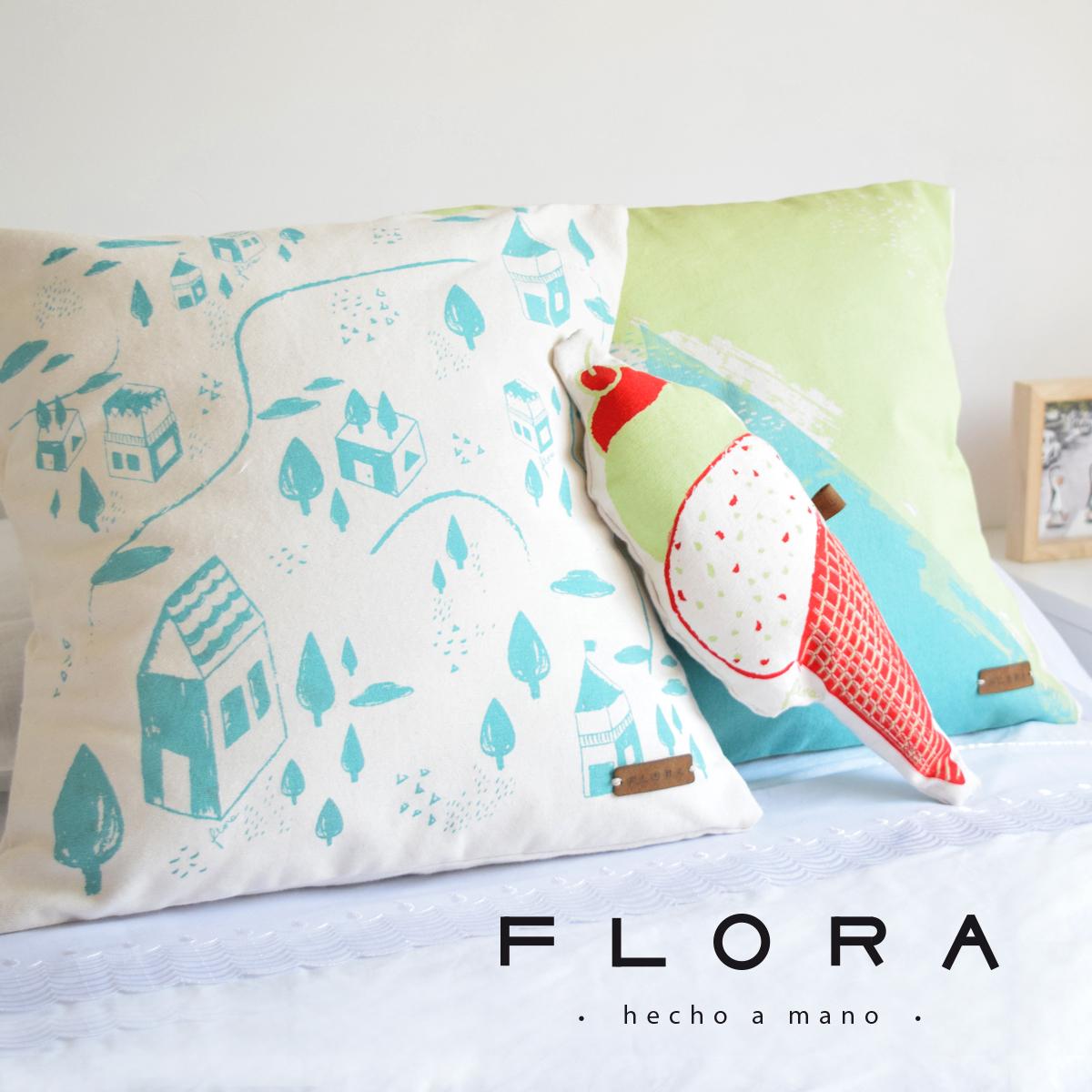 FLORA - HECHO A MANO