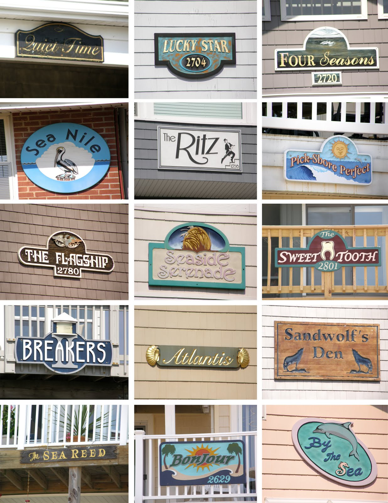 Graphic sugar 85 signs you need a vacation for House of names