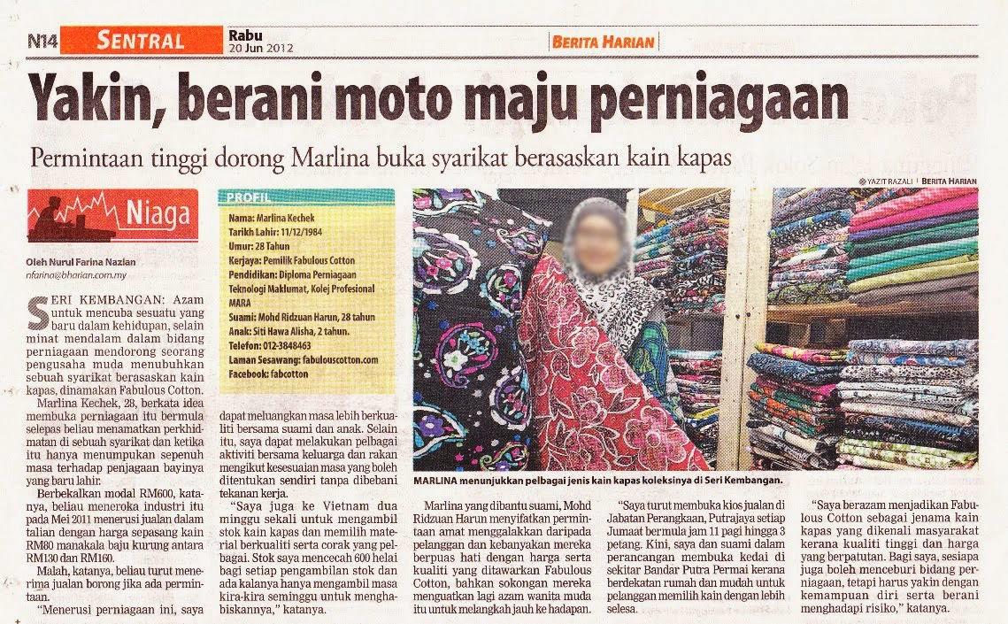 Berita Harian 20 June 2012