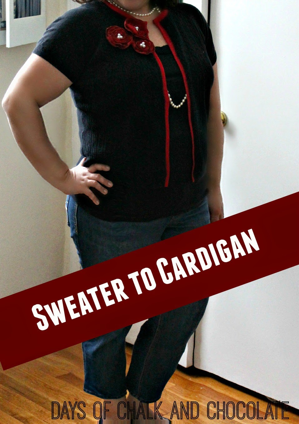 easy sweater refashion
