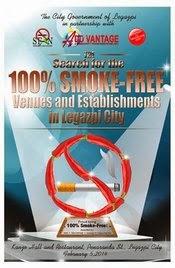Legazpi City 100% Smoke-Free Campaign
