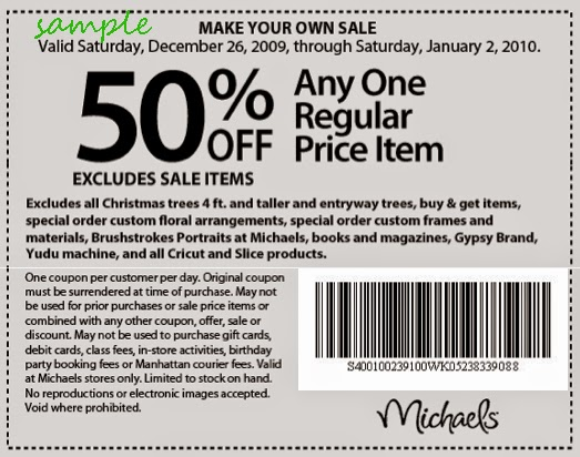 Michaels coupons online 2019