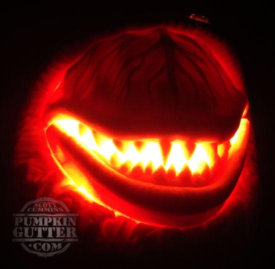 Is it weird amazing pumpkin carvings for Alien pumpkin pattern