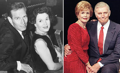 Charlton Heston and Lydia Clarke