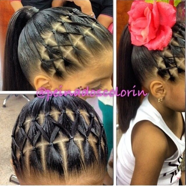 Short Little Girl Hairstyles With Bob Cut Or Ponytail Style