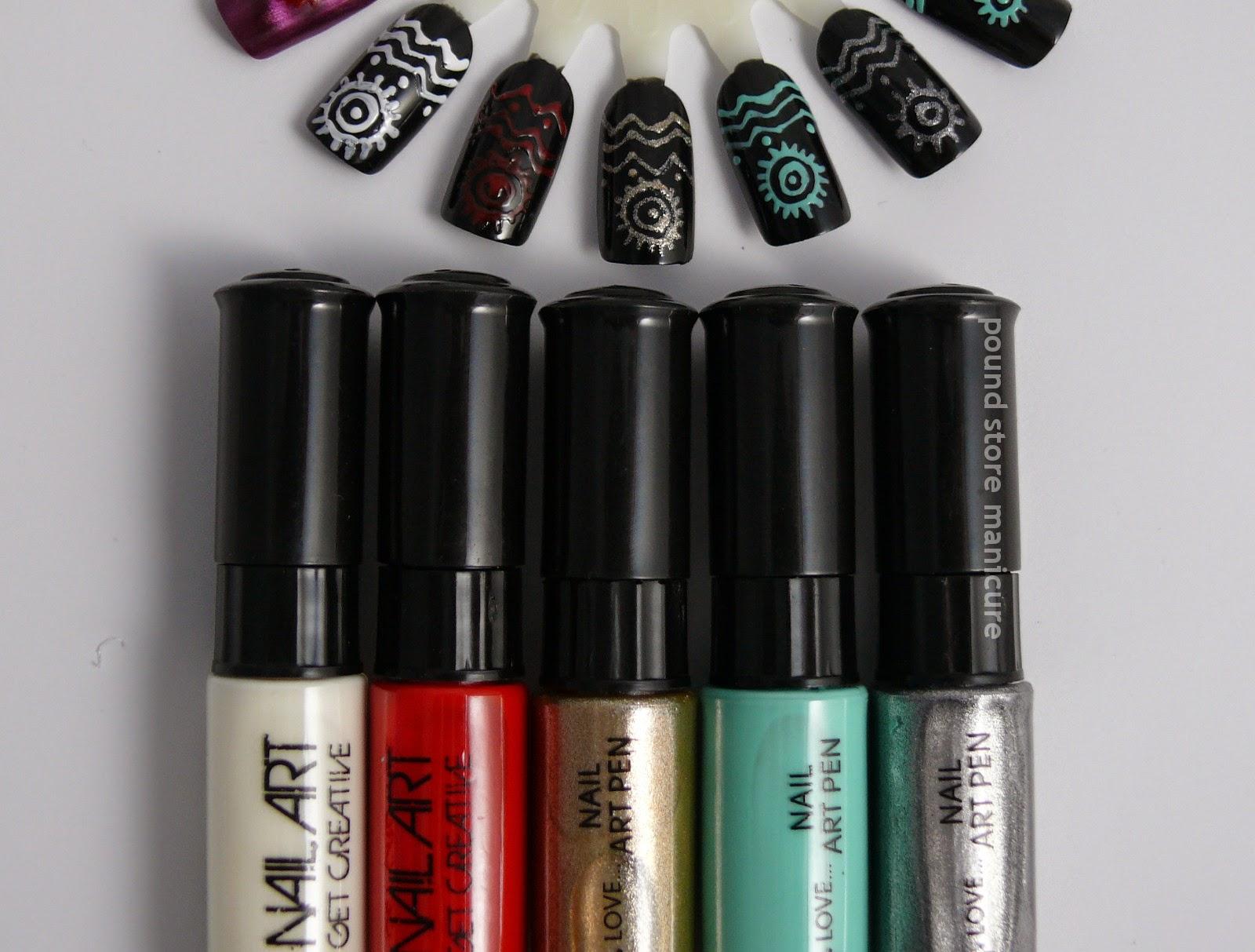 Pound Store Manicure Primark Nail Art Pens