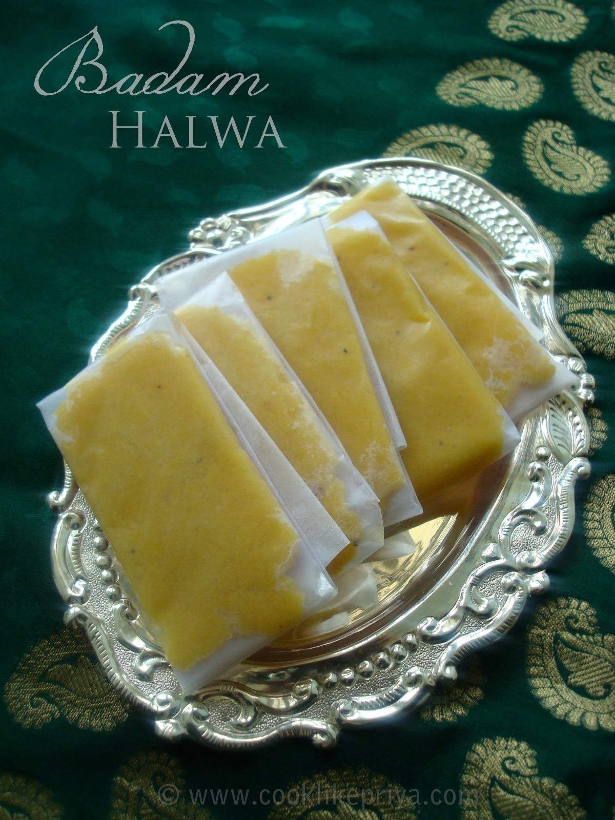 BADAM HALWA