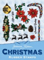 Joanna Sheen Vintage Christmas Stamps - Make a Wish