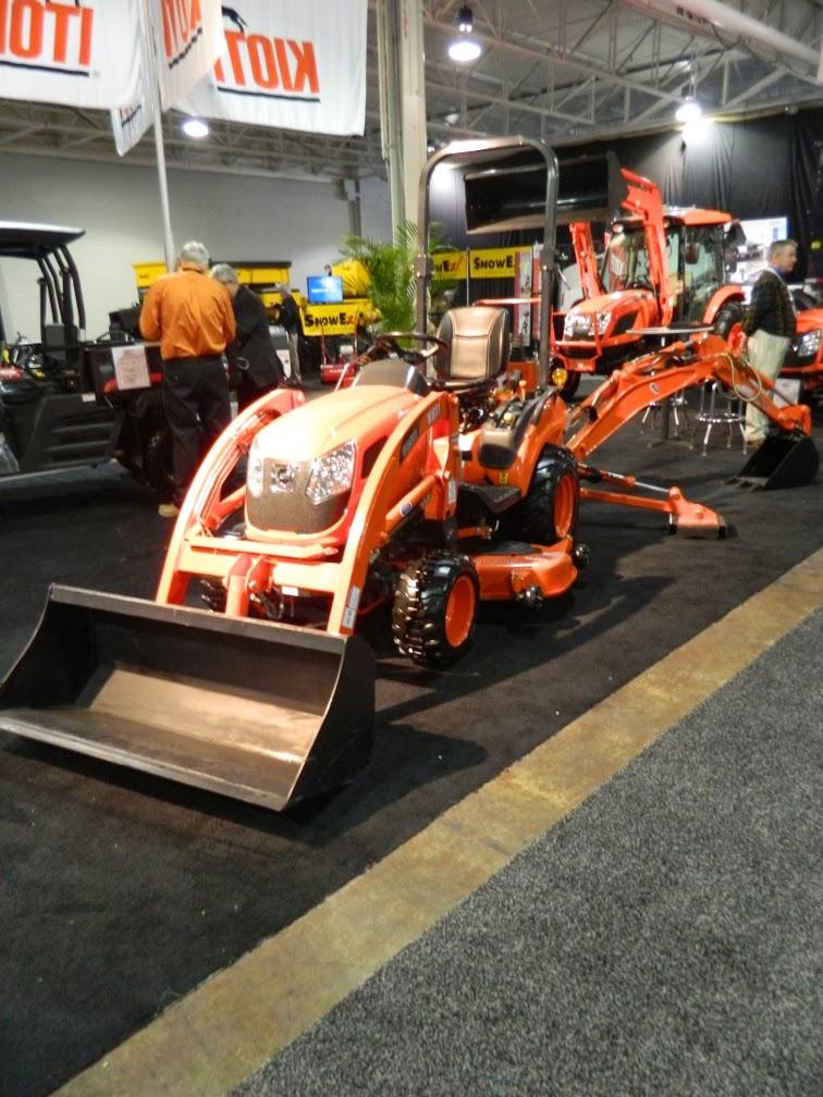 Landscape Ontario 2014 Congress Kioti tractor by garden muses-a Toronto gardening blog