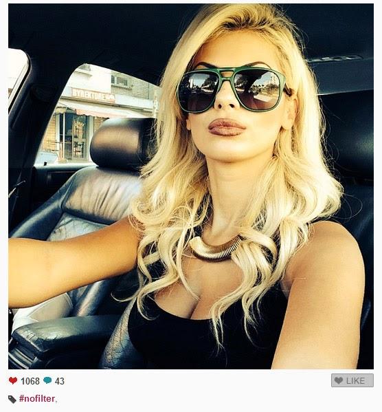 "Luana Vjollca seksi edhe ""pa filter"""