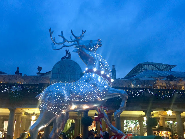 Covent Garden Christmas Reindeer 2015