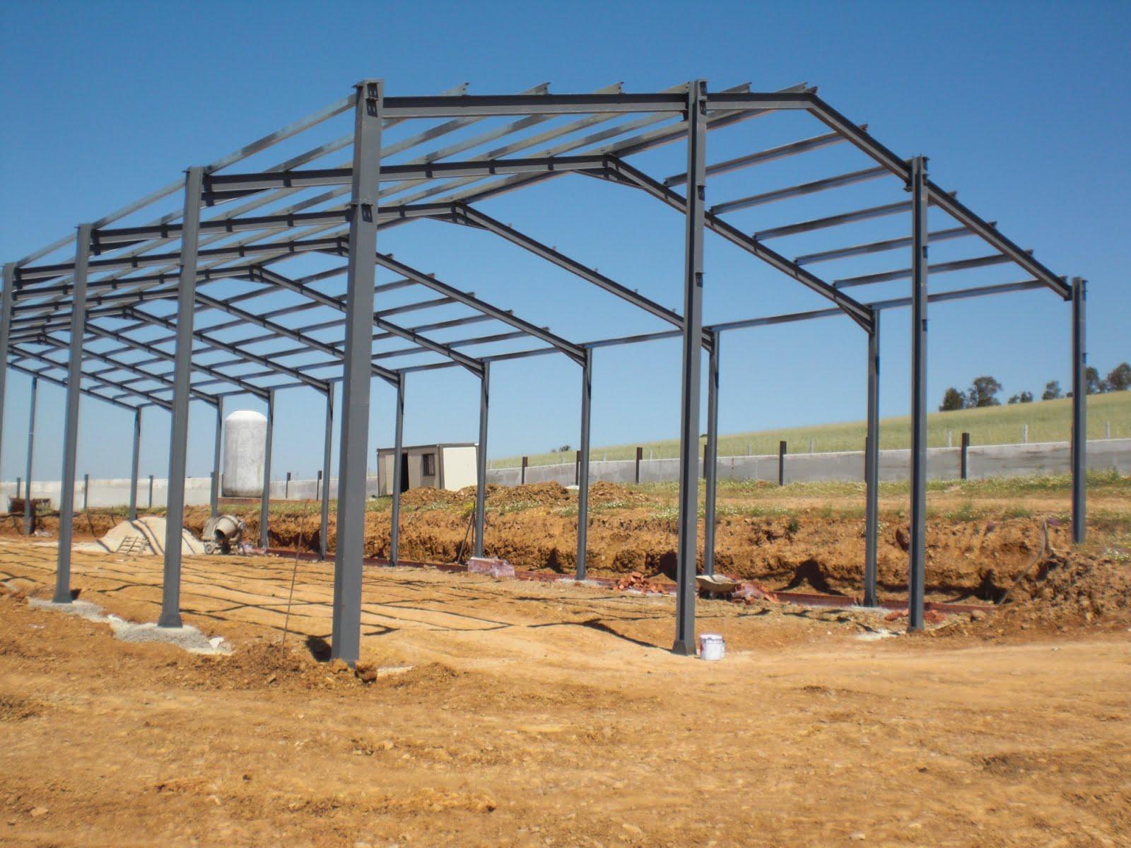 Ideas metalicas estructura metalica para naves agricolas - Estructuras de hierro para casas ...