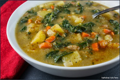 Kahakai Kitchen: Potato, Leek, and Kale Soup with Smoky ...