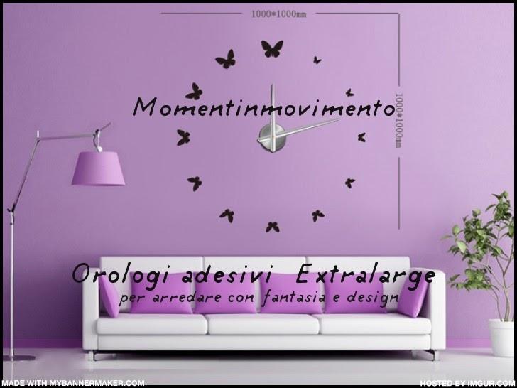 Arredo novit orologi adesivi da parete di momentinmovimento idee arredo pareti per ufficio - Adesivi parete camera da letto ...