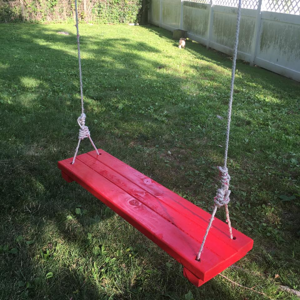 Absolutely not Adult tree swings
