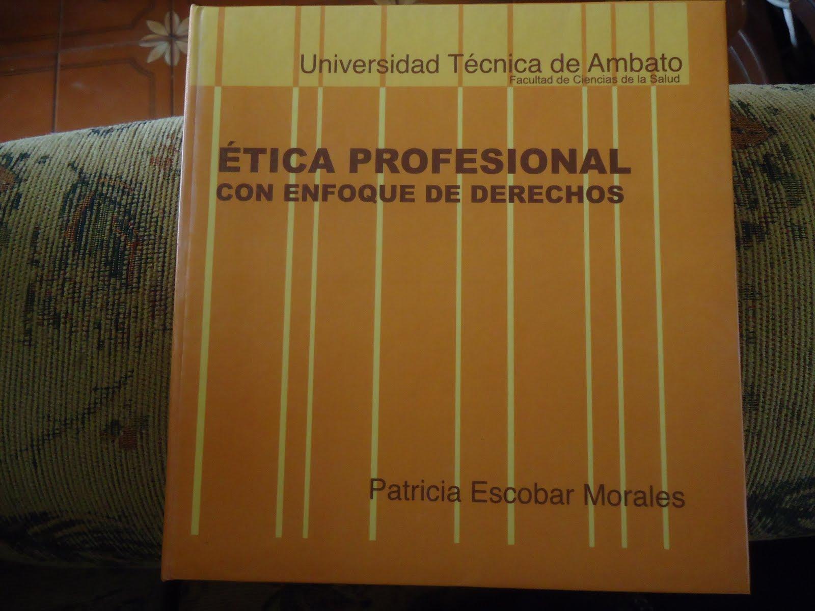 Ética Profesional con enfoque de derechos humanos