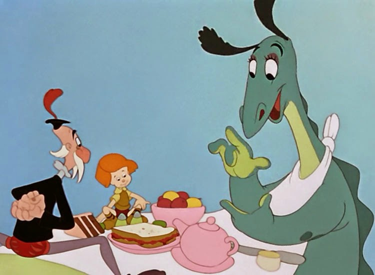 The Reluctant Dragon, released in 1941 by Disney.