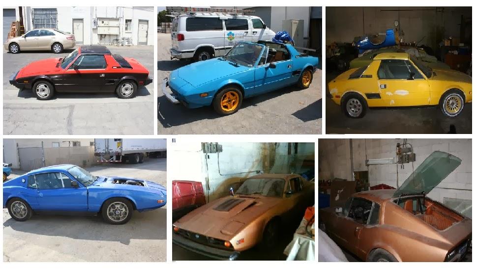20k: Costco Sized: 6 Fiat X1/9s and 3 SAAB Sonetts