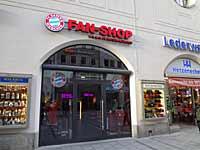Neuer FC-Bayern Fanshop in München - Neuhauserstraße